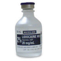 LIDOCAINE 2% VISCOUS SOLN 100ML VIAL, EACH