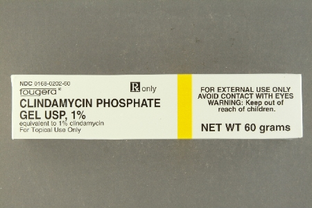 GEL, CLINDAMYCIN PHOSPHATE 1% TOPICAL 30GM ANTIBACTERIAL