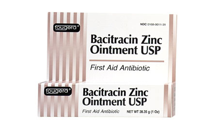 OINTMENT, BACITRACIN 144/BX,  0.9 GM FOIL PKTS,