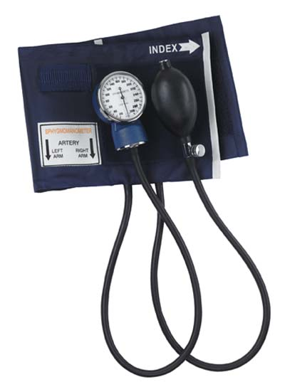 SPHYG, LARGE ADULT NYLON CUFF, NAVY, EACH