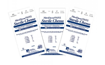 GLOVE, STERILE CHEMO NITRILE PF, LARGE, 200/CS EXTENDED CUFF