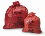 "BAG, BIOHAZARD 23""X23"" 7-10 GAL, EACH"