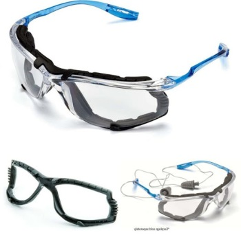 GLASSES, SAFETY VIRTUA CCS, CLEAR, EACH