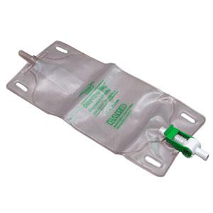 LEG BAG, W/FLIP-FLO, 32 OZ.  WITHOUT LEG STRAPS, EACH
