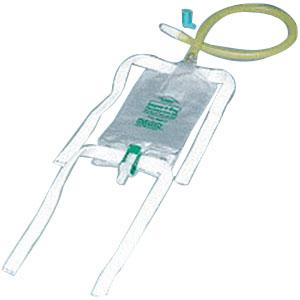 BAG, LEG 19OZ DISPOZ-A-BAG W/FLIP-FLO VALVE AND FABRIC STRAPS, 1