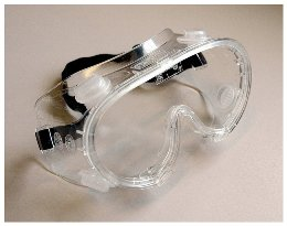 GOGGLES, ECONOMY CHEMICAL RESISTANT EACH