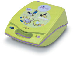 AED, ZOLL PLUS SEMI-AUTO DEFIBRILLATOR WITH COVER