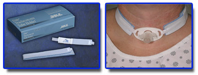 "TRACH NECKBAND, NEW BLUE, FITS UP TO 9"" NECK, EACH"