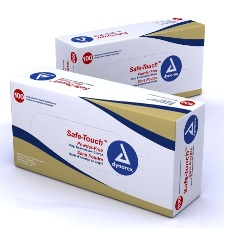 GLOVES, VINYL PF MEDIUM DYNAREX, 100/BOX (10BOX/CS)