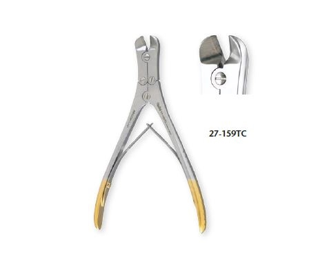"PIN & WIRE CUTTER, 7"" SURGICAL GRADE"