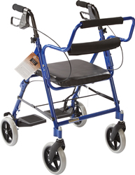 TRANSPORT ROLLATOR BLUE, EACH