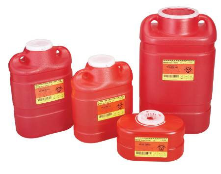 SHARPS, 5GAL FUNNEL RED, EACH