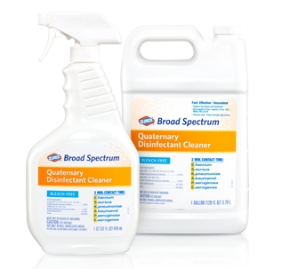 DISINFECTANT, CLOROX QUATERNARY 32OZ SPRAY, EACH