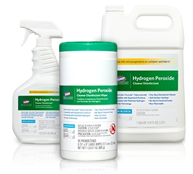 WIPES, HYDROGEN PEROXIDE DISINFECTING,  95/TUB