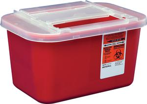 SHARPS, 1GAL, HORIZONTAL ENTRY, EACH