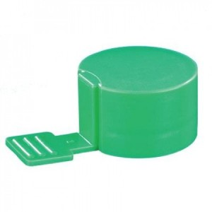 CAP, ADDITIVE BIG TAB GREEN 100/CS