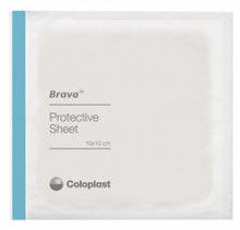 "BARRIER, BRAVA SKIN PROTECTIVE SHEETS, 4"" X 4"""