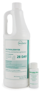 SOLUTION, GLUTARALDEHYDE 2.5% 28 DAY, 1QT, EACH