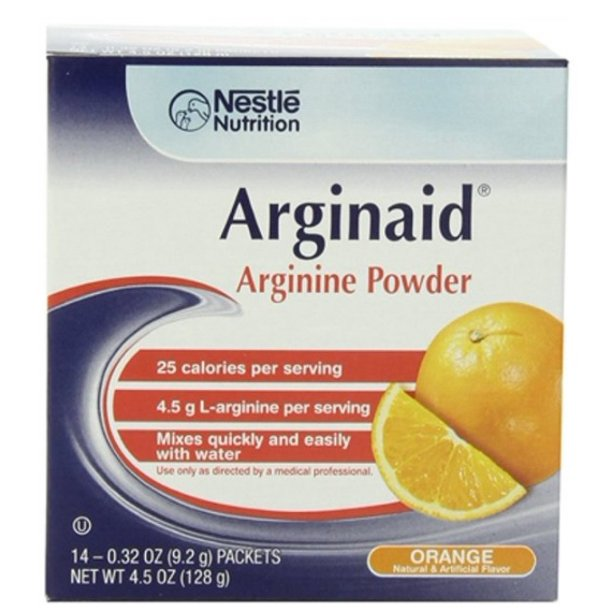 ARGINAID, ORANGE 0.32OZ PACK, 14/BOX