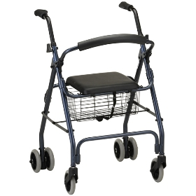 ROLLATOR, CRUISER CLASSIC WALKER, BLUE, EACH