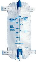 BAG, LEG 19OZ W/STRAP AND FLIT TOP VALVE.