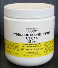 CREAM, HYDROCORTISONE 1%, 1 LB EACH