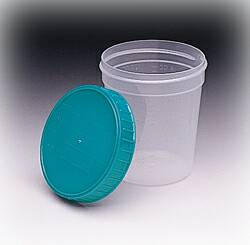 CUPS, URINE W/LID SCREW 4OZ
