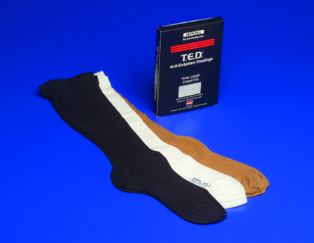 "STOCKINGS, T.E.D LARGE REG, 12-15"" CALF, KNEE LENGTH, PAIR"