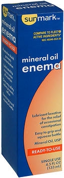 ENEMA, 100% MINERAL OIL 4.5OZ. EACH 24/CS