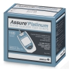 TEST STRIPS, ASSURE PLATINUM 100/BX