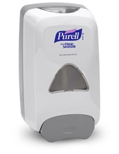 DISPENSER, NXT PUSH BAR 1000ML WALL MOUNT 6/CS