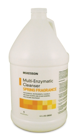 DETERGENT, INSTRUMENT, MULTI-ENZYMATIC, SPRING FRESH, 1 GALLON,