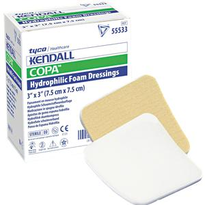 "DRESSING, COPA FOAM ULTRA-SOFT, 3X3"", 10/BX"