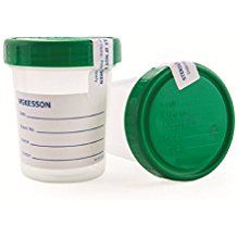 CONTAINER, URINE SPECIMEN, 4OZ SCREW CAP, STERILE, 100/CS