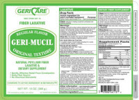 GERI-MUCIL, REGULAR FLAVOR 13 OZ, EACH
