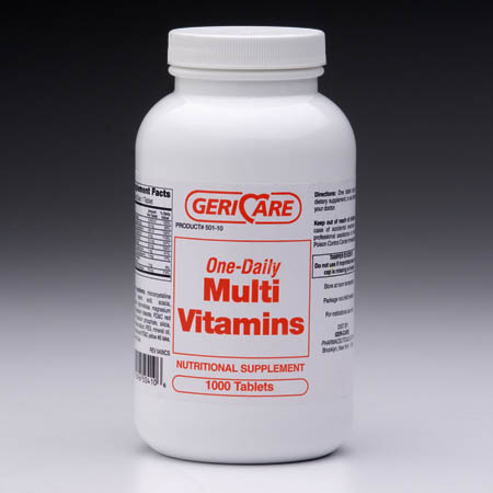 TABLETS, MULTI-VITAMIN BTL/1000