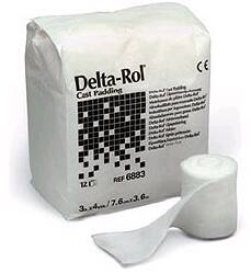 "CAST PADDING, 4"" DELTA ROLL, 12RL/BAG"
