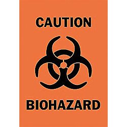 "LABEL, BIOHAZARD 5X3.5"", EACH"