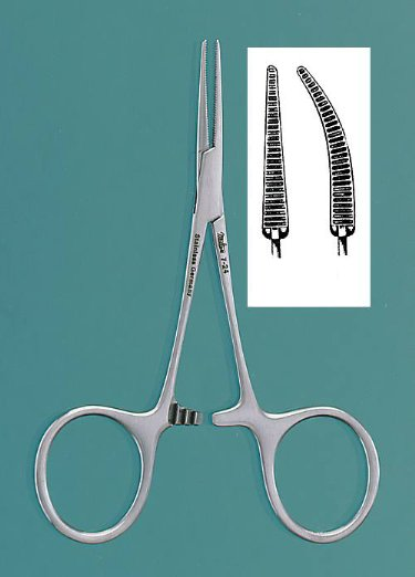 "FORCEPS, MOSQUITO 3.5"" STRAIGHT, HARTMAN, EACH"