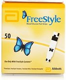 STRIPS, FREESTYLE LITE, 50/BX (BI LINGUAL)
