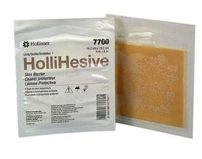 "WIPES, SKIN BARRIER HOLLIHESIVE, 4X4"" NS, 5/BX"