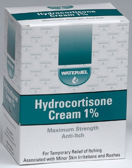 CREAM, HYDROCORTISONE, 144PKTS/BX
