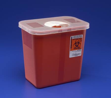 SHARPS, 2GAL ROTOR W/ LID, EACH
