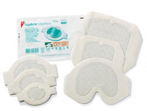 "DRESSING, TACAD 3"" X 3 3/4"" CLEAR HYDROCOLLOID, EACH"