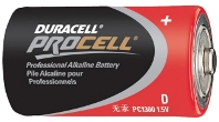 BATTERY, D DURACELL, EACH