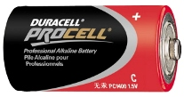 BATTERY, C DURACELL, EACH
