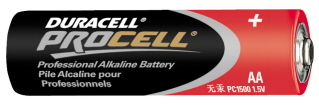 BATTERY, AA DURACELL, EACH