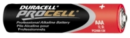 BATTERY, AAA DURACELL, EACH