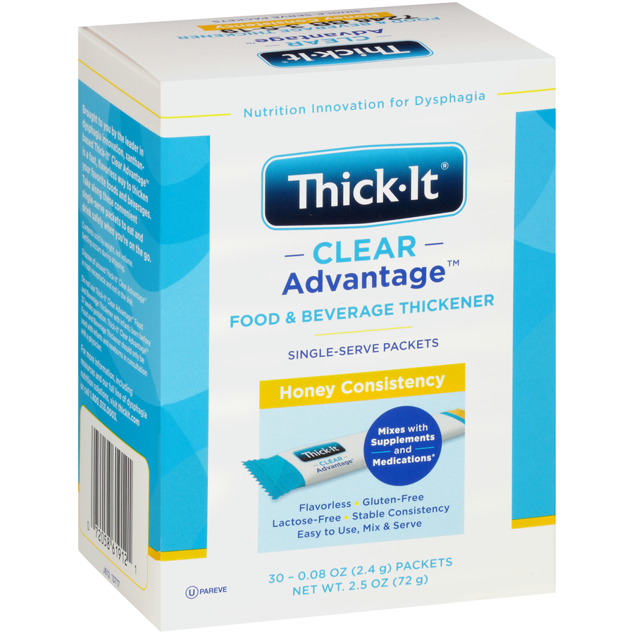 Thick-It Clear Advantage Thickener Powder Single Serve Packets H