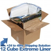 "COOLER, COLDKEEPER 12 CUBE TAPE BAG, 1"" THICK, EACH (20/CS)"